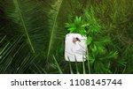 a hidden place. sleeping woman... | Shutterstock . vector #1108145744
