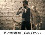 art exposition  antique....   Shutterstock . vector #1108159739