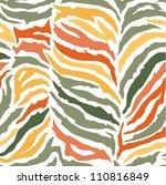 seamless colorful animal skin... | Shutterstock .eps vector #110816849