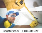 building precision and accuracy.... | Shutterstock . vector #1108281029
