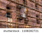 renovation work on the south... | Shutterstock . vector #1108282721