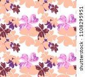 marble textured flowers in...   Shutterstock . vector #1108295951