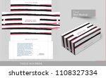 brush stroke tissue box concept ... | Shutterstock .eps vector #1108327334