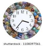 crystal healer's clock border   ... | Shutterstock . vector #1108397561