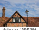Roof Of Old English Cottage