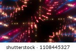 abstract pink creative lights... | Shutterstock . vector #1108445327
