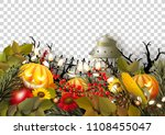 transparent template with...   Shutterstock .eps vector #1108455047