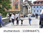 bamburg  bavaria germany 05 20... | Shutterstock . vector #1108466471