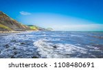 waves on the sea   english... | Shutterstock . vector #1108480691