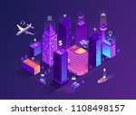 Smart City Isometric...