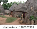 dwelling in the village of... | Shutterstock . vector #1108507139