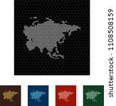 map of asia   Shutterstock .eps vector #1108508159