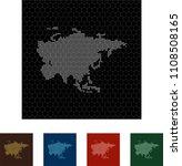 map of asia   Shutterstock .eps vector #1108508165