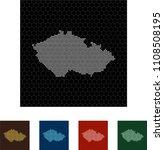 map of czech republic   Shutterstock .eps vector #1108508195