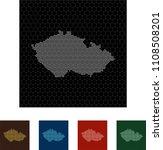 map of czech republic   Shutterstock .eps vector #1108508201
