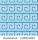abstract sea wave geometric... | Shutterstock .eps vector #1108524065