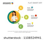 three options process chart... | Shutterstock .eps vector #1108524941