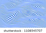 background of lines blue waves... | Shutterstock .eps vector #1108545707