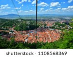view of old town brasov from...   Shutterstock . vector #1108568369
