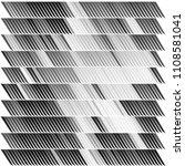 monochrome abstract vector... | Shutterstock .eps vector #1108581041