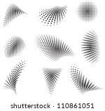 Set Of Halftone Pattern