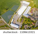 aerial view of goods warehouse... | Shutterstock . vector #1108613321