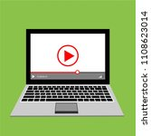 video tutorials  study and... | Shutterstock .eps vector #1108623014