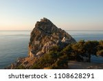 dawn on the black sea coast.... | Shutterstock . vector #1108628291