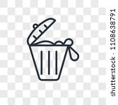 solid waste vector icon... | Shutterstock .eps vector #1108638791