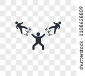 man beating two fighters vector ... | Shutterstock .eps vector #1108638809