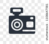 photograph vector icon isolated ...   Shutterstock .eps vector #1108647581