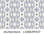 seamless geometric pattern ... | Shutterstock .eps vector #1108659437