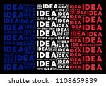 france republic flag mosaic... | Shutterstock .eps vector #1108659839