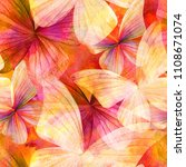 seamless watercolor background... | Shutterstock . vector #1108671074