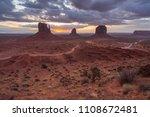 monument valley  utah  usa | Shutterstock . vector #1108672481