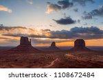 monument valley  utah  usa | Shutterstock . vector #1108672484