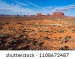 monument valley  utah  usa | Shutterstock . vector #1108672487