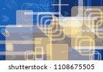 tech texture. colorful...   Shutterstock .eps vector #1108675505