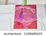 new hydrophobic material | Shutterstock . vector #1108680629