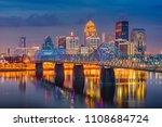 louisville  kentucky  usa... | Shutterstock . vector #1108684724