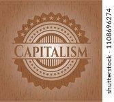 capitalism wood signboards   Shutterstock .eps vector #1108696274