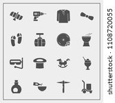 modern  simple vector icon set... | Shutterstock .eps vector #1108720055