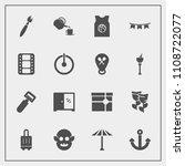modern  simple vector icon set... | Shutterstock .eps vector #1108722077