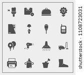 modern  simple vector icon set... | Shutterstock .eps vector #1108723031
