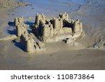 Photograph Of A Sand Castle...