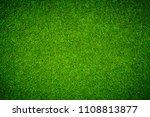 green grass background | Shutterstock . vector #1108813877