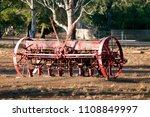 Antiquated Farm Equipment In...