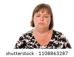 a woman looking run down and...   Shutterstock . vector #1108863287
