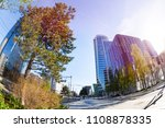 la part dieu district with its... | Shutterstock . vector #1108878335