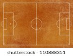 Paper texture,Soccer ( football ) field - stock photo